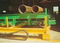 Kwinana - steel pipe loading system