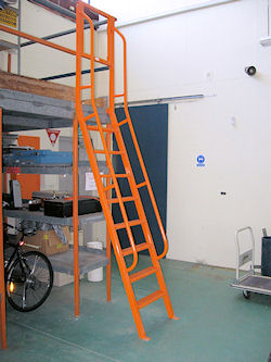 New step ladder installed