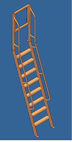 Step Ladder designed